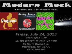 Tribute Show at 89 North July 24