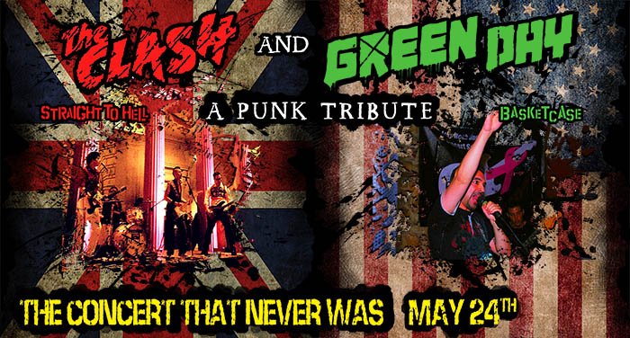 Punk Tribute Green Day The Clash